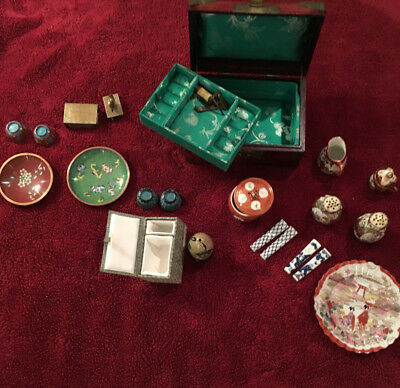 lot of Antique Vintage Chinese Japanese Asian collectibles
