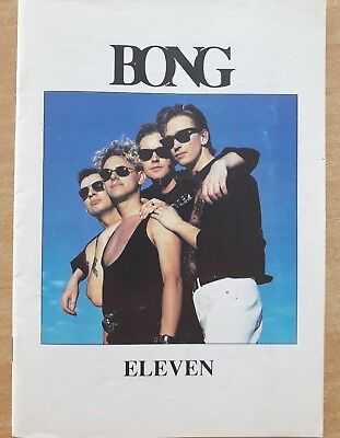 "DEPECHE MODE ""BONG 11"" (""The Depeche Mode Fan Club Magazine"") 1990"
