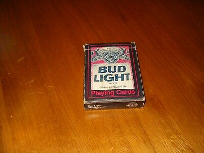 Vintage Bud Light playing Cards
