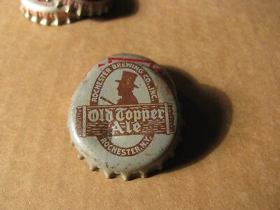Old Topper  Ale  Rochester New York Cork Beer Cap Grey Version