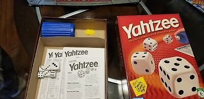 Yahtzee Game Classic with Dice, Shaker & 80 Score Cards Hasbro Gaming New in Box