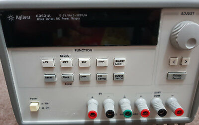 Agilent / Keysight E3631A Netzteil Power supply  Trible output UVP:1200 Euro