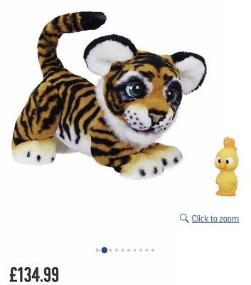 FURREAL ROARIN` TYLER THE PLAYFUL TIGER unboxed