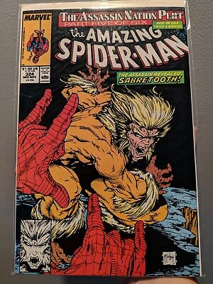 Amazing Spider-Man (1963 series) #324 in Near Mint Todd McFarlane