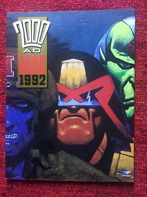 2000AD YEAR BOOK 1992 (not Judge Dredd)