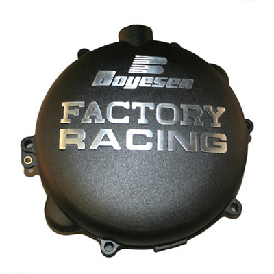 Factory Clutch Cover - Black For 2007 KTM 250 XC~Boyesen CC-42B