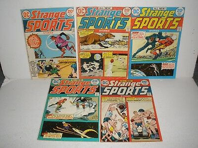 DC Comics Strange Sports Stories # 1 2 3 4 5 Nice Run