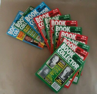 Book And Magazine Collector (11 Issues)