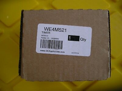 WE4M521 Genuine GE OEM Washer Dryer Combo Timer  BRAND NEW FAST FREE SHIPPING