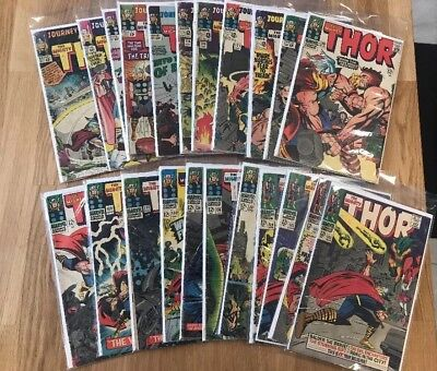 Journey into Mystery, Thor - 22 Silver Age Comic Lot - Lower Grades- Lot #22