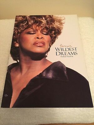Tina Turner tour book from her 1996 Wildest Dreams Tour