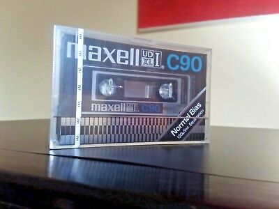 CASSETTE TAPE BLANK SEALED  1x (one) MAXELL UD XL-I C90 [1977-79] made in Japan
