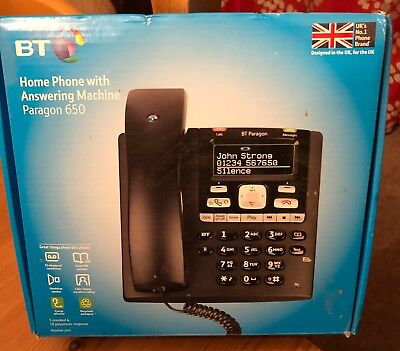 BT Home Phone with Answering Machine Paragon 650