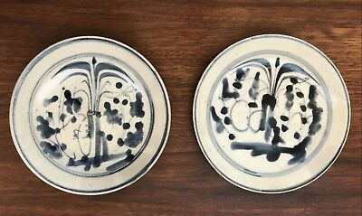 Chinese Ming Dynasty Sauce Dishes - Two
