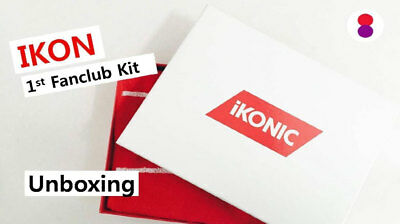 IKONIC (IKON) 2ND Official Fanclub Kit (No Membership Card