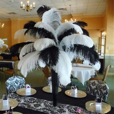 15-35cm Quality Ostrich Feather Wedding Party Plume Decor Costume Craft 10 pcs