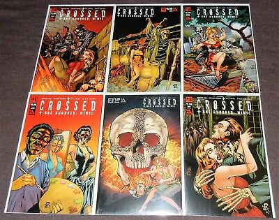 CROSSED PLUS ONE HUNDRED: MIMIC 6-Issue Set - HELLISH HOMAGE Covers