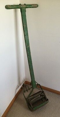 Vintage Antique Cultivator Claw Push Garden Tiller With Handle
