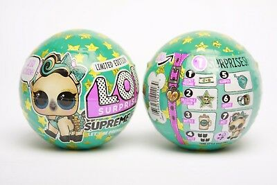 LOL Surprise Limited Edition Supreme Pet Series Luxe Bling Pony Ball - Free Ship