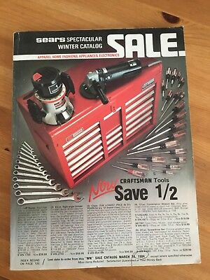 Vintage 1983 SEARS SPECTACULAR WINTER CATALOG. MUST SEE!