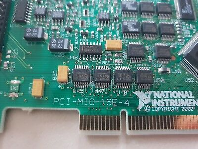 National Instruments NI PCI-MIO-16E-4 Messwerterfassungskarte