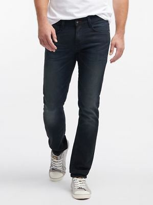 Mustang Oregon Tapered K Herren Jeans, W28 - to - W38 / *WOW* / rinsed washed
