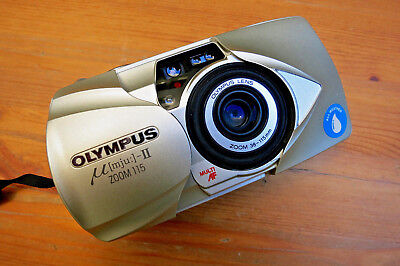 Olympus mju-II Zoom 115 38-115mm Multi AF All-Weather