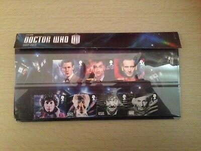 Doctor Who Collectable Stamps In Presentation Pack