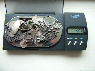 Scrap Silver Jewelry & Coins 92.1g