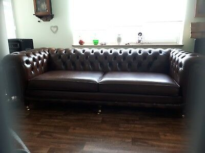 Chesterfield 4 SitzerSofa Original  Modell Chatsworth  2016