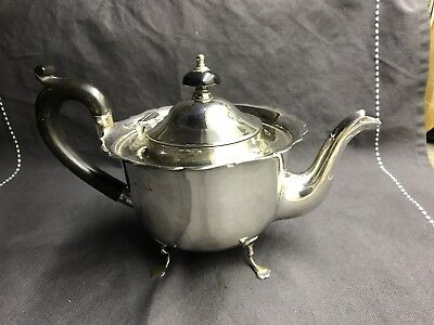 Hallmarked Solid Sterling Silver Teapot