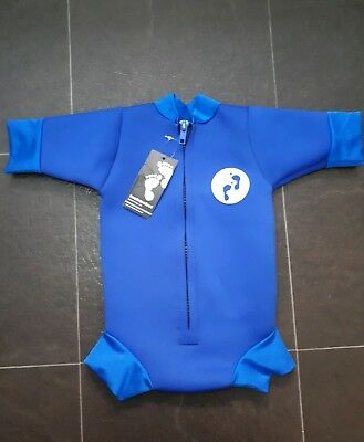 Two Bare Feet Baby Wetsuit Blue 0-3 Months