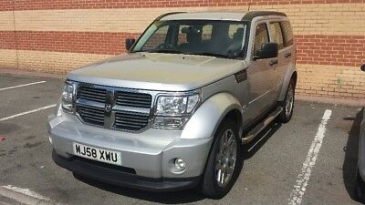Dodge Nitro Sxt Crd Auto..only Rtf4562K Miles..x8 Stamps..mot  Jan 19..hpi Clear