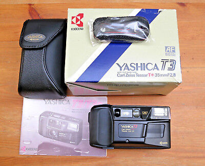 Yashica T3 Carl Zeiss Tessar T* 3.5/35mm