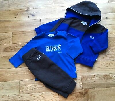 4aeb2095df477 BABY HUGO BOSS Tracksuit And Long Sleeve Top 12 Months - £26.00 ...