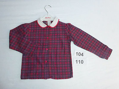 ♥ Bluse - Vintage ♥ Made in France Landhaus English Country Style - Gr 104 110