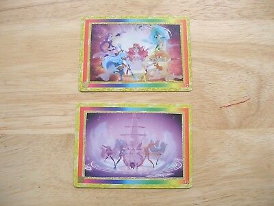 Lolirock 'Magical' Trading cards 12 13 Group Princess Merchandise