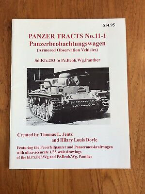 Panzer Tracts Book