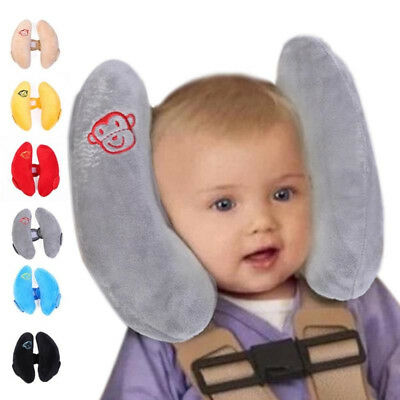 Soft Baby Toy Toddler Headrest Pillow Children Head Protection Baby Car Safety