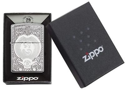 Zippo Anne Stokes Armor Lighter High Polished Chrome Windproof Brand New