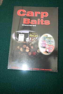 CARP BAITS UNCOVERED - SIGNED x 7 - CARP FISHING BOOK