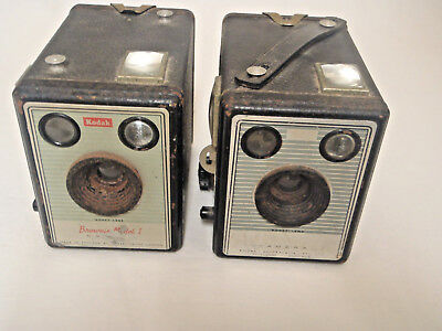 Kodak Brownie 1 Model 620- Made in UK + Brownie Flash 11 Made in Australia Parts