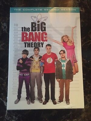 The Big Bang Theory - The Complete Second Season (DVD, 4-Disc Set, BRAND NEW)