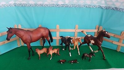 Breyer Model Horses (Lot of 10)- Traditional, Classic, Stablemate, & MW