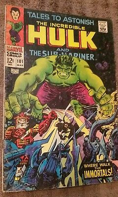 Tales to Astonish #101 (Mar 1968, Marvel) featuring The Immortals