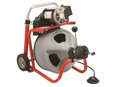 Ridgid K-400 AUTOFEED Drum Machine with C-32IW (Integral Wound) Solid Core Cable