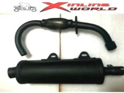 Kinroad 250cc Exhaust System   Complete