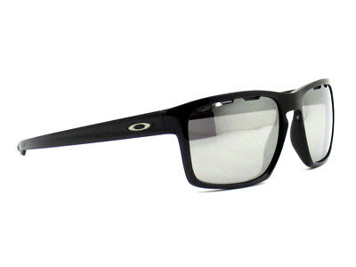 oo9262-42 57 Oakley Sunglasses Sliver Vented Polished Black Chrome Iridium