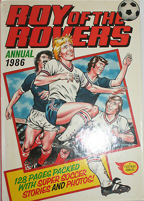 Roy Of The Rovers Annual 1986