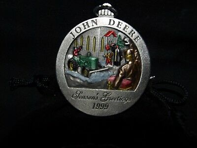 1999 JOHN DEERE  Christmas Ornament model M Tractor NO. 4 IN A SERIES